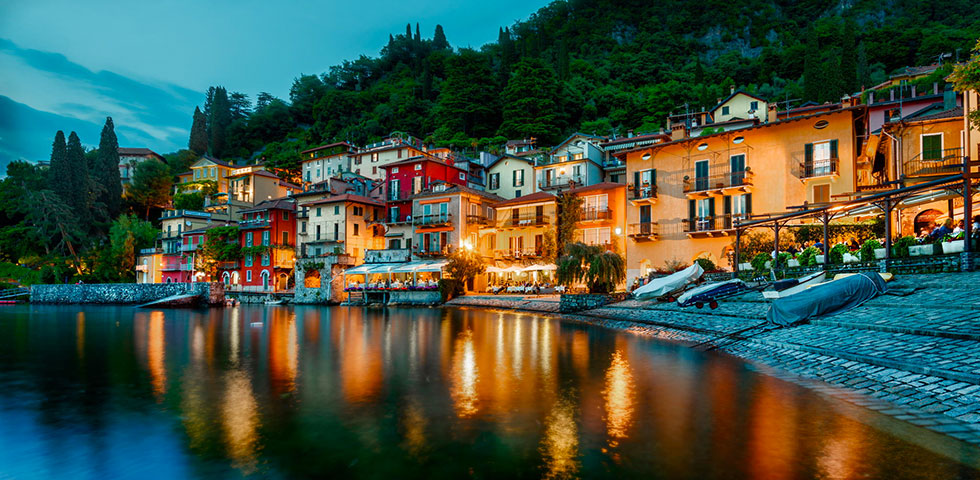 Varenna by night