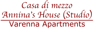 Annina's House (Studio) and Casa di Mezzo - Varenna Apartments